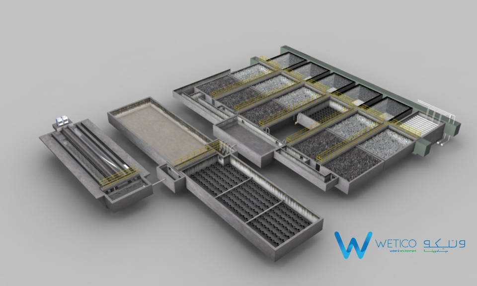 The entire treatment plant / wetico.com